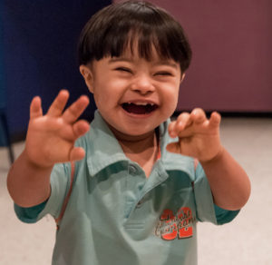 happy child-down syndrome